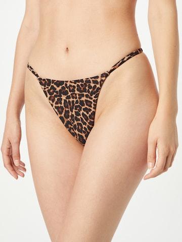 brūns hunkemöller x NA-KD Bikini apakšdaļa