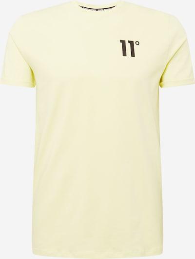 11 Degrees Shirt in de kleur Geel / Zwart, Productweergave