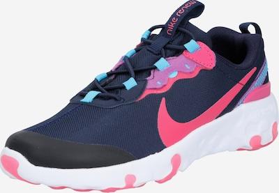 Sportbačiai 'Renew Element 55' iš Nike Sportswear , spalva - mėlyna / purpurinė spalva / juoda, Prekių apžvalga