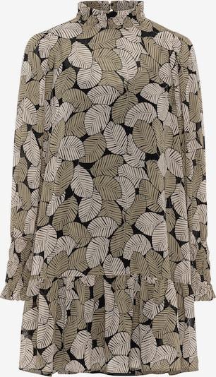 HALLHUBER Kleid in grün / schwarz / weiß, Produktansicht