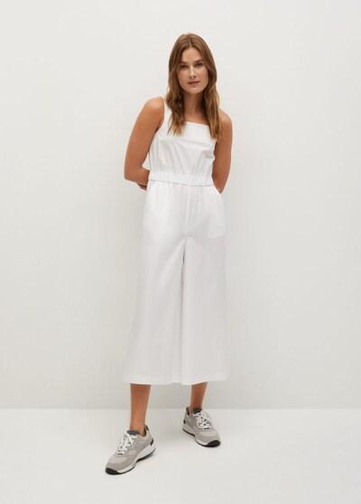 MANGO Jumpsuit 'Pop-H' in weiß, Modelansicht