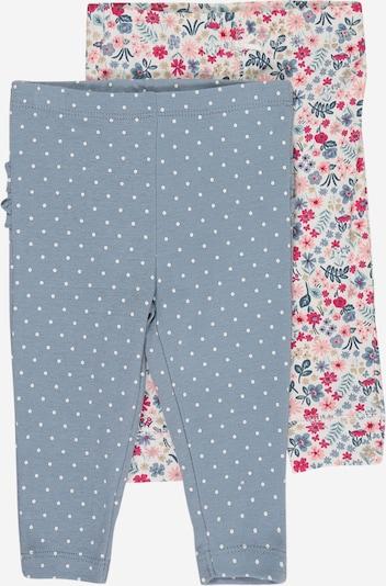 Carter's Hose in rauchblau / dunkelgrün / mischfarben / pitaya / weiß, Produktansicht