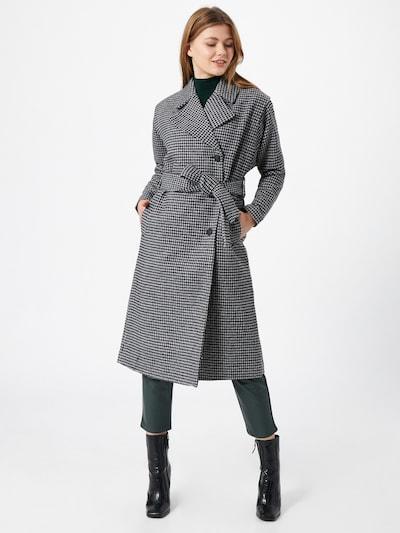 Palton de primăvară-toamnă Pimkie pe gri / negru, Vizualizare model