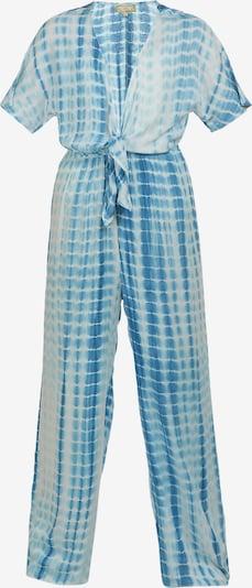 MYMO Jumpsuit in de kleur Blauw / Wit, Productweergave