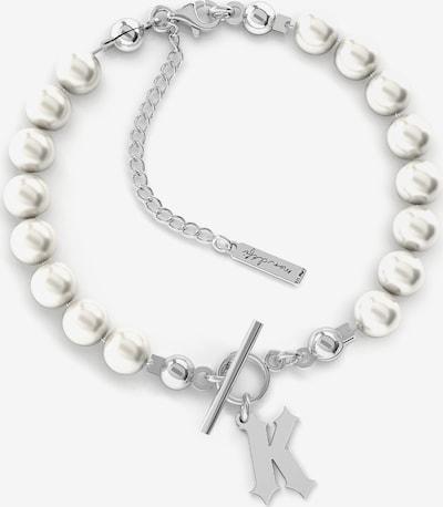 Giorre Armband '34524' in silber / perlweiß, Produktansicht