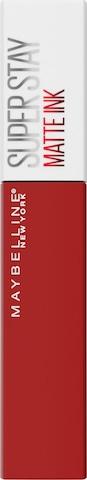 MAYBELLINE New York Lippenstift 'Superstay Matte Ink' in Red