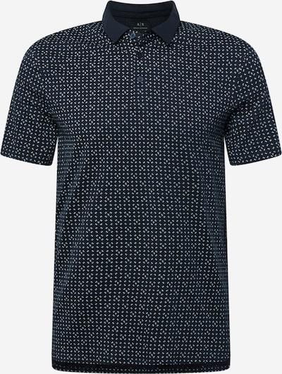 ARMANI EXCHANGE T-Krekls, krāsa - debeszils / melns, Preces skats