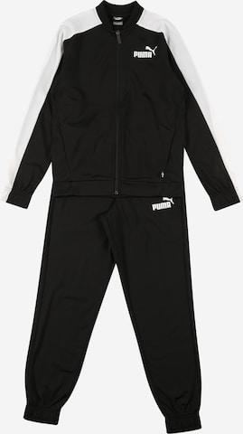 Costum de trening de la PUMA pe negru
