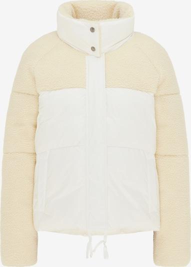 MYMO Jacke in kitt / offwhite, Produktansicht