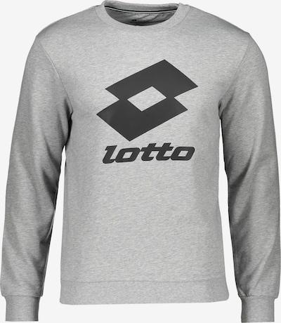 LOTTO Sportsweatshirt in grau / schwarz, Produktansicht