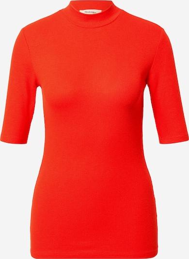 modström Shirt 'Krown' in orangerot, Produktansicht