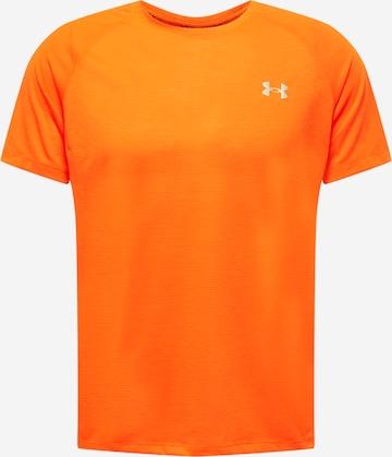 UNDER ARMOUR Sportshirt 'Streaker' in Rot