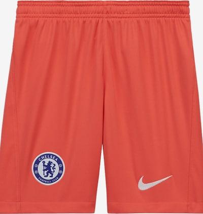 NIKE Sporthose in blau / orange / weiß, Produktansicht