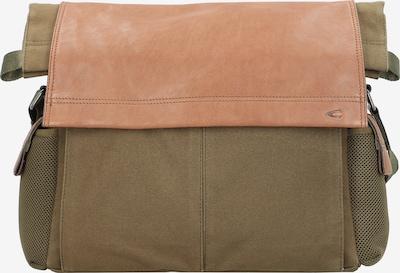 CAMEL ACTIVE Lähettilaukku 'Napoli' värissä ruosteenruskea / khaki, Tuotenäkymä