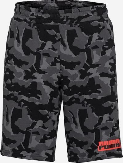 PUMA Športové nohavice - sivá / tmavosivá / čierna, Produkt