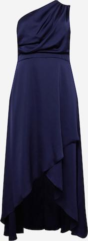 TFNC Plus Večerné šaty 'DELALI' - Modrá