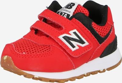 new balance Sneaker in rot / schwarz / weiß, Produktansicht