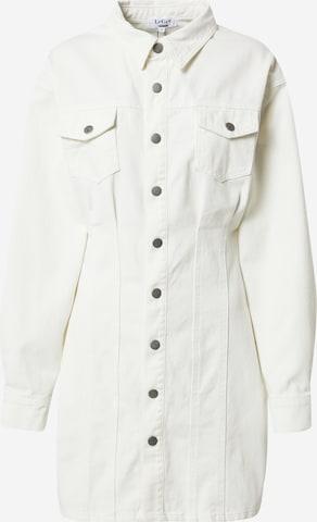 LeGer by Lena Gercke Рокля тип риза 'Zehra' в бяло