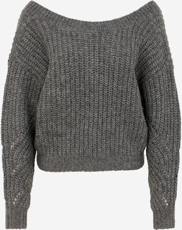 Vero Moda Petite Sweater 'PIXIE' in Grey