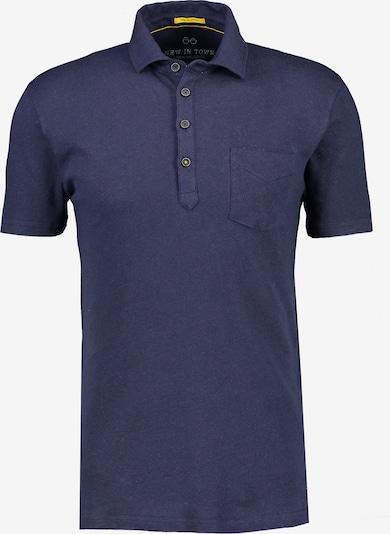 NEW IN TOWN Poloshirt in blau / marine / navy / dunkelblau, Produktansicht