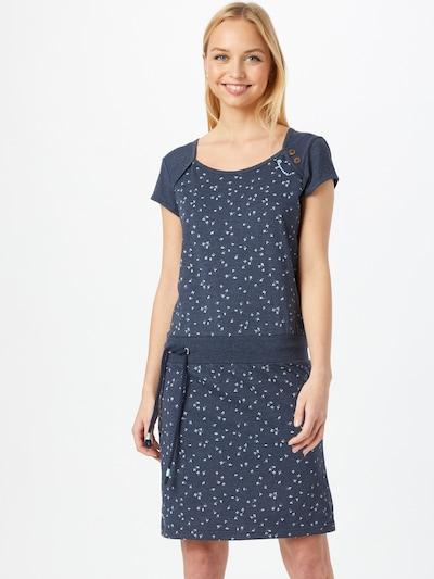 Ragwear Sommerkleid ' Mike Dress Organic ' in blau, Modelansicht
