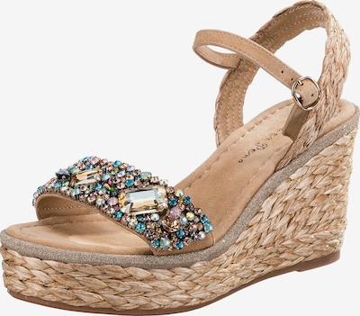 Alma En Pena Sandale in sand / mischfarben, Produktansicht