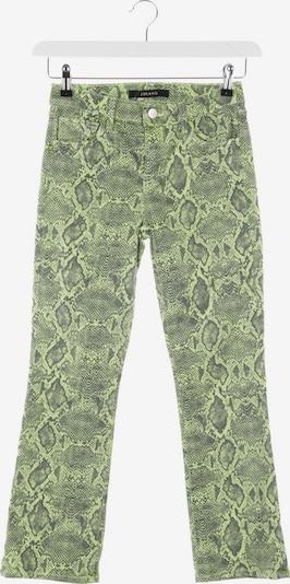 J Brand Jeans in 25 in grün / schwarz, Produktansicht