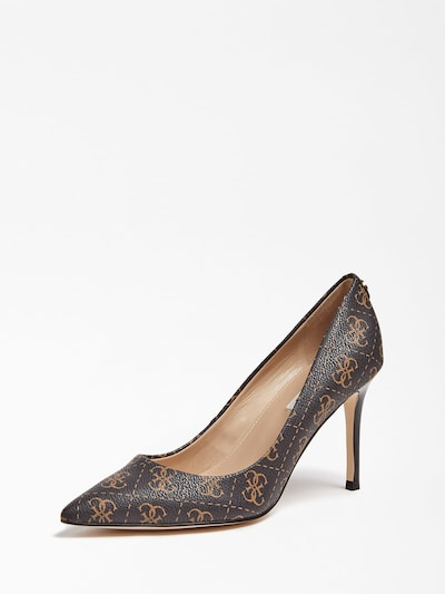 GUESS Pumps 'Dafne' in braun / gold, Produktansicht