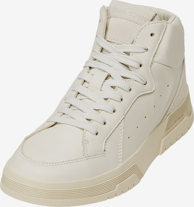 Marc O'Polo Sneakers ' mit ausgestellter Cupsohle ' in Beige / White, Item view