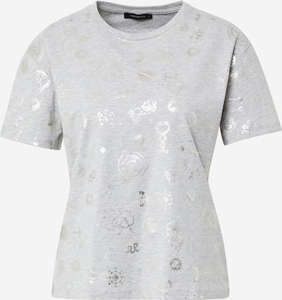 Trendyol T-Shirt in graumeliert / silber, Produktansicht