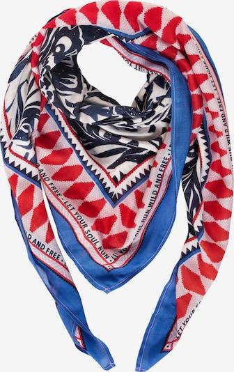 CECIL Tuch in blau / rot / schwarz / weiß, Produktansicht
