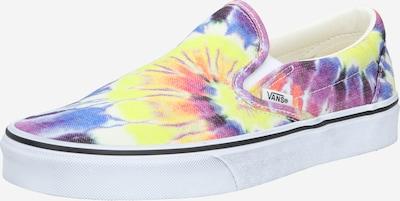 VANS Slip on boty - kouřově modrá / žlutá / tmavě fialová / mix barev / bílá, Produkt
