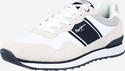 Pepe Jeans Nizke superge | svetlo bež / bela barva, Prikaz izdelka