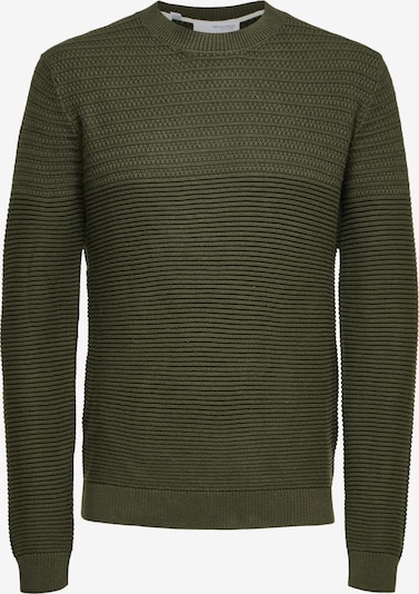 SELECTED HOMME Pullover 'Conrad' in oliv, Produktansicht