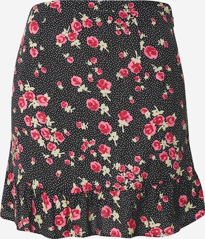 Miss Selfridge Rok in de kleur Gemengde kleuren / Zwart, Productweergave