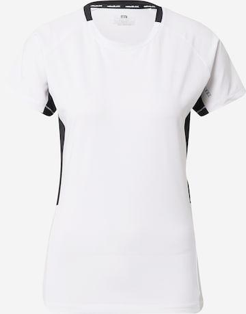 Tricou funcțional 'MATEK' de la Rukka pe alb