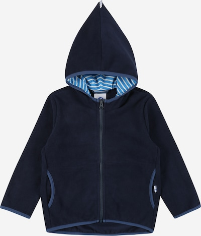 FINKID Veste en polaire 'PAUKKU' en bleu marine, Vue avec produit
