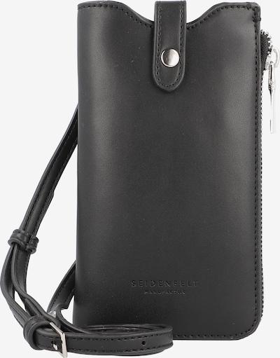 Seidenfelt Manufaktur Smartphonehoesje in de kleur Zwart, Productweergave