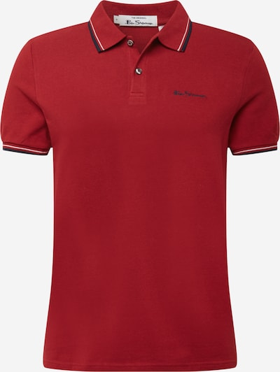 Tricou Ben Sherman pe albastru închis / roșu / alb, Vizualizare produs