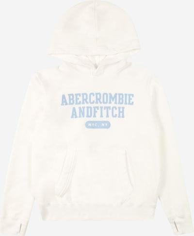Abercrombie & Fitch Суичър в опушено синьо / бяло, Преглед на продукта