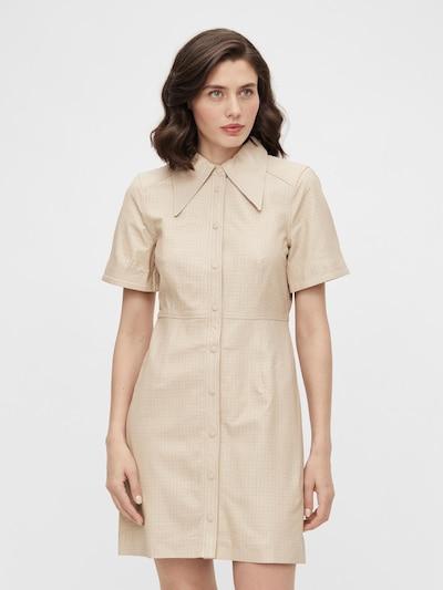 OBJECT Kleid 'Laur' in kitt, Modelansicht