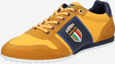 PANTOFOLA D'ORO Sneakers low 'ZAPPONETA' in night blue / yellow / curry, Item view