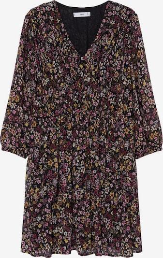 MANGO Sukienka w kolorze mieszane kolory / czarnym, Podgląd produktu