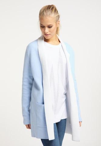 Geacă tricotată de la usha BLUE LABEL pe albastru