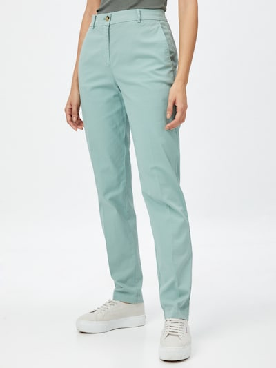 HUGO Chinosy 'Hecia' w kolorze pastelowy zielonym, Podgląd na modelu(-ce)