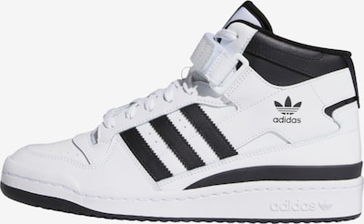 Sneaker înalt 'Forum' ADIDAS ORIGINALS pe negru / alb, Vizualizare produs
