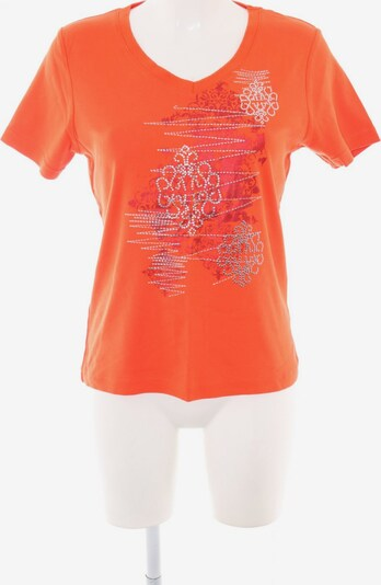 CMP V-Ausschnitt-Shirt in M in hellorange / silber, Produktansicht