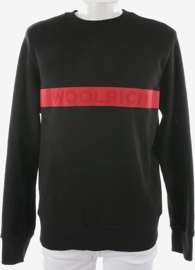 Woolrich Sweatshirt in L in rot / schwarz, Produktansicht