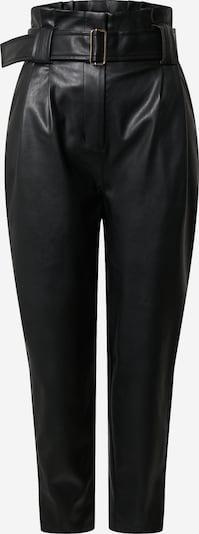 EDITED Hlače z naborki 'Margit' | črna barva, Prikaz izdelka
