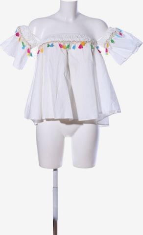 Storets Carmen-Bluse in XS in Weiß
